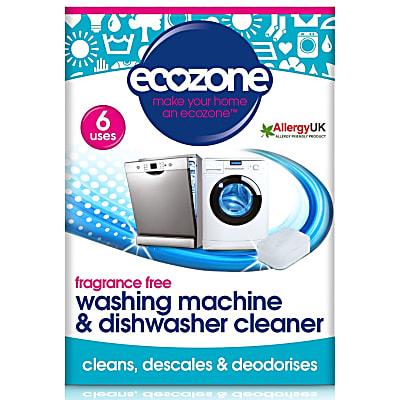 removes limescale - washing machine & dishwasher cleaner