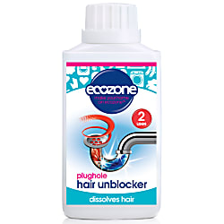 dissolve the hair-  plughole hair unblocker