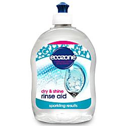 dry & shine rinse aid dishwasher 500ml
