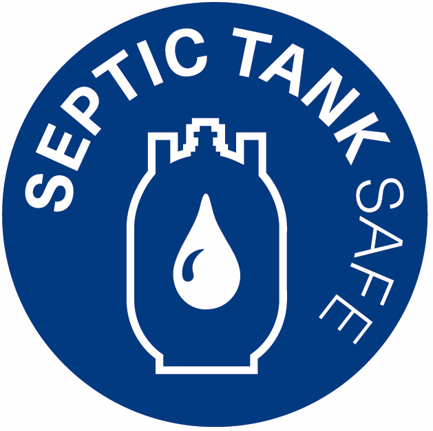 Safe for septic tanks