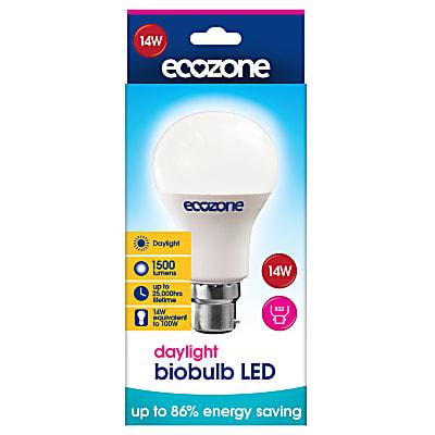 daylight biobulb led b22 fitting 14 watts