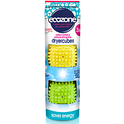 soften clothes & reduce drying time - dryer cubes