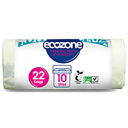 Ecozone Eco Compostable Bag 10L - 22 bags