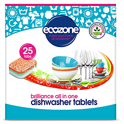 dishwasher tablets - brilliance all in one 25 tabs