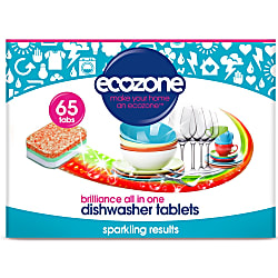 dishwasher tablets - brilliance all in one 65 tabs