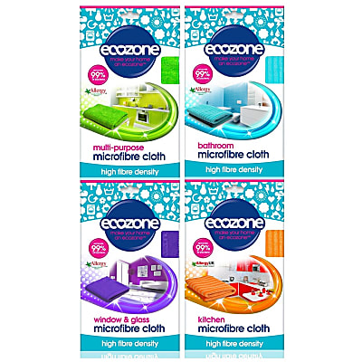Microfibre Cloth Bundle (4 cloths) - save 45%