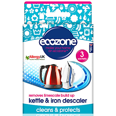 removes limescale - kettle & iron descaler