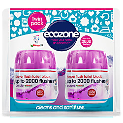 Forever Flush Toilet Block 2000 - Indigo Twin Pack