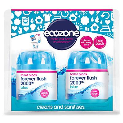 original toilet block - forever flush twin pack
