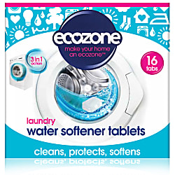 laundry water softener tablets 16 tabs