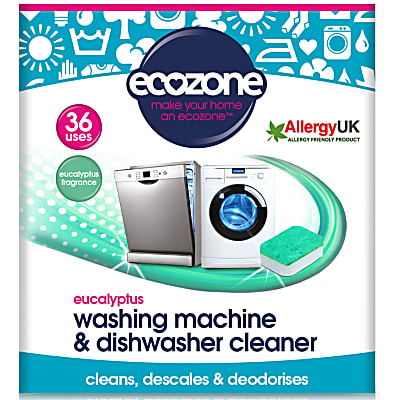 Eucalyptus Washing Machine & Dishwasher Cleaner (36 tablets)