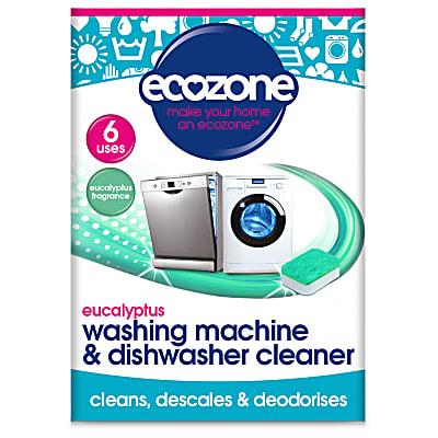 Eucalyptus Washing Machine & Dishwasher Cleaner (6 tablets)