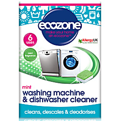 Mint Washing Machine & Dishwasher Cleaner (6 tablets)