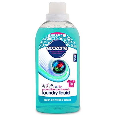 pro-active sports wash laundry liquid 16 washes 750ml
