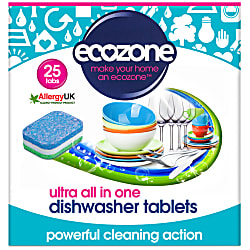 ultra all in one dishwasher tablets - 25 tabs